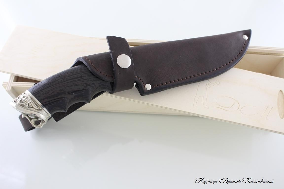 """Eger"" Knife. Bohler K100 Steel. Wenge Handle"