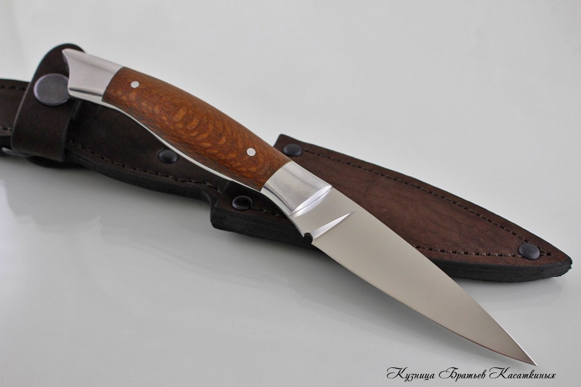 Pairing Kitchen Knife. h12mf Steel. Lacewood Handle