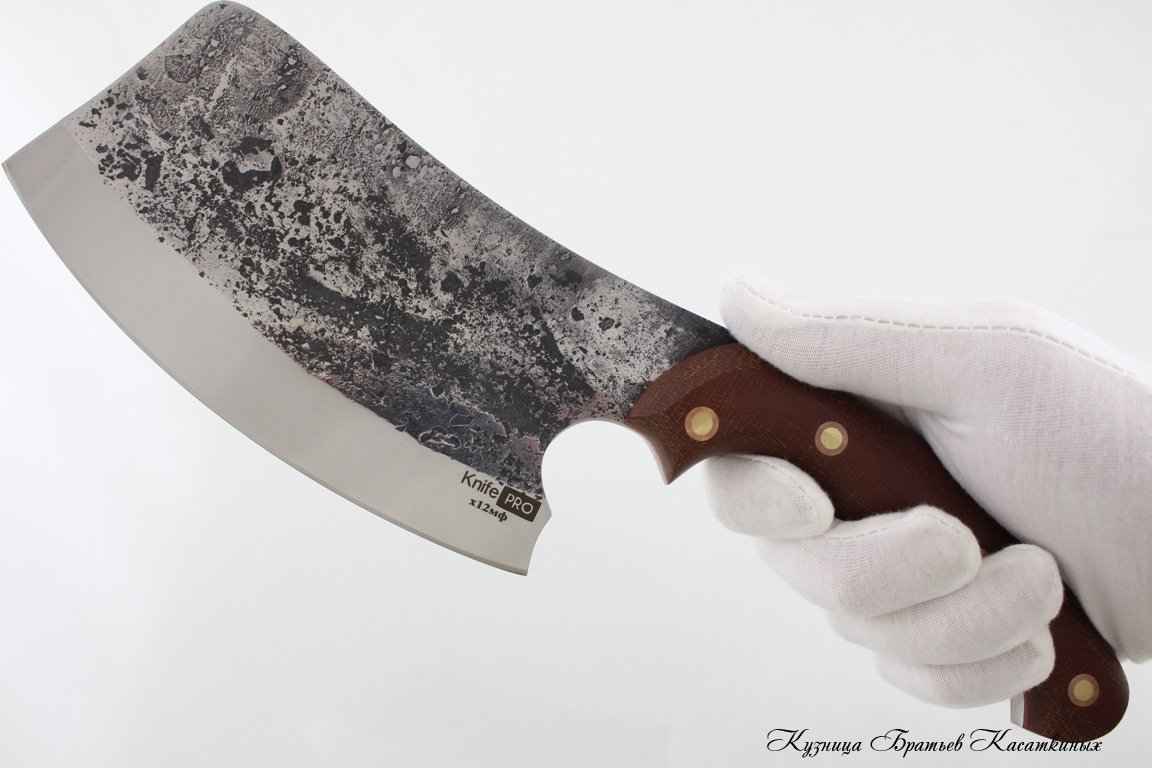 "Cleaver ""KnifePRO"". kh12mf Steel. Professional Series"