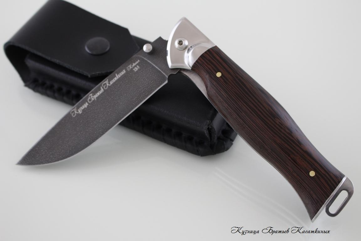 "Folding knife ""Legioner"". HV-5 Steel. Wenge Handle"