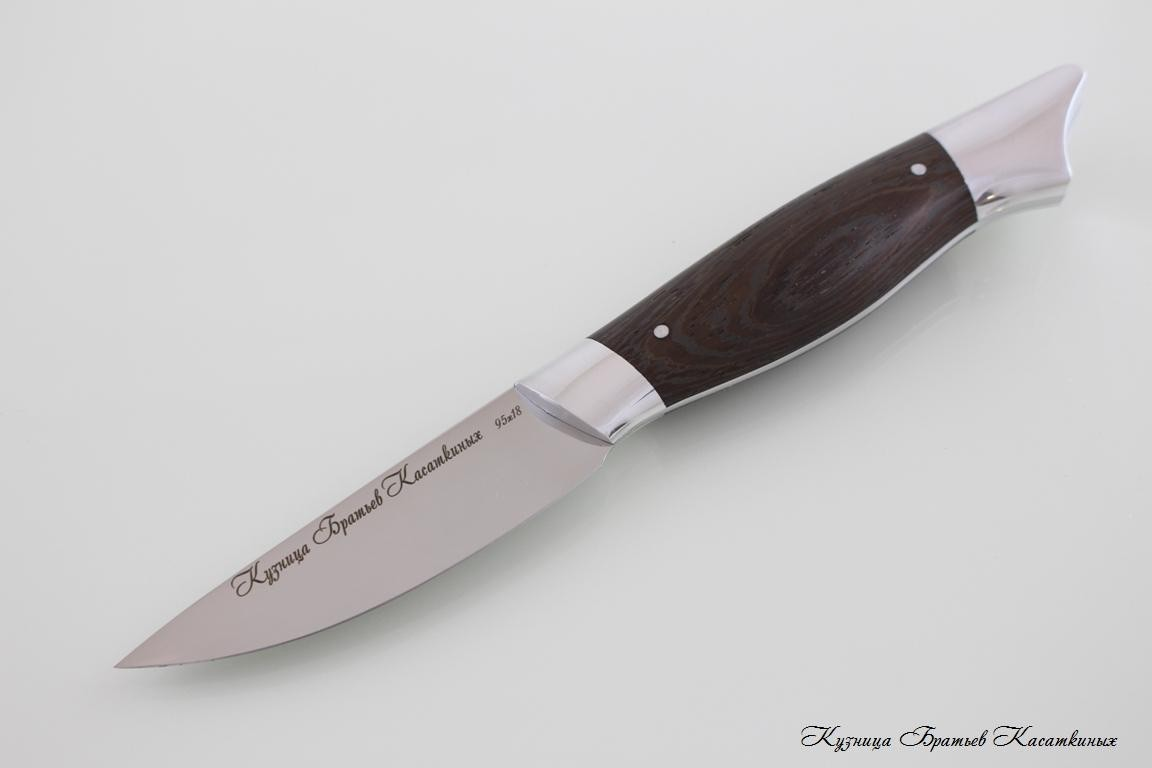 "Кухонные ножи Kitchen Knife Set ""Grand Ratatouille"". 95kh18 Steel. Wenge Handle"