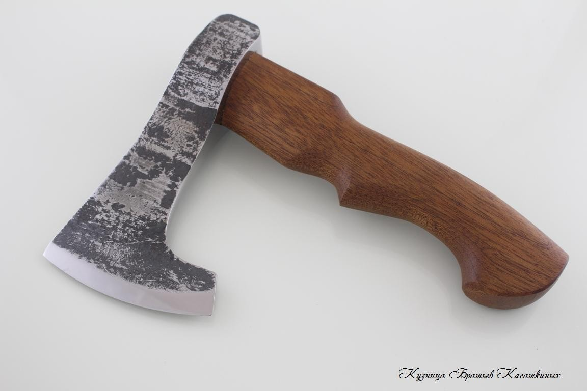 "Axe ""Koval Maly 2"". U8+KhVG Steel. Sapele Handle"
